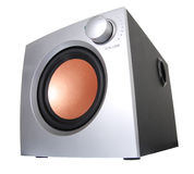 Moderns subwoofer Stock Photo