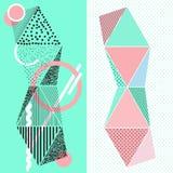 modernt abstrakt baner Arkivbild