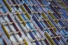 modernt arkitekturexponeringsglas Arkivfoton