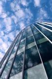 modernt arkitekturexponeringsglas Fotografering för Bildbyråer