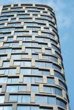 modernt arkitekturhotell Arkivbilder