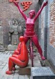 Modernt Art In 798 område Royaltyfri Fotografi