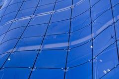 modernt bakgrundsbyggnadsexponeringsglas Royaltyfri Foto
