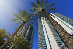 modernt bostads för byggnader Arkivbild