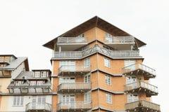 Modernt bostadshus Royaltyfri Foto