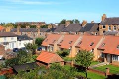 Modernt bostadsområde i Scarborough Arkivfoto