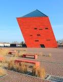 modernt byggande Museum av kriget för värld II royaltyfri bild