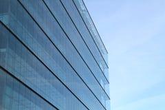 modernt byggnadsexponeringsglas Fotografering för Bildbyråer