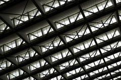 modernt byggnadsexponeringsglas royaltyfri bild