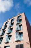 modernt byggnadshotell Royaltyfri Fotografi