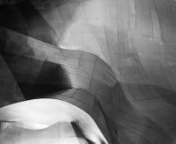Modernt byggnadsmetallabstrakt begrepp Arkivfoto