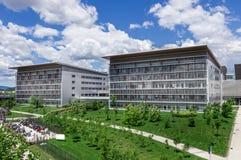 modernt byggnadssjukhus Royaltyfri Bild