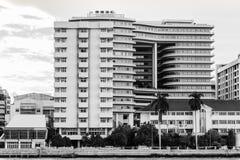 modernt byggnadssjukhus Arkivbilder