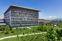 modernt byggnadssjukhus Arkivfoton
