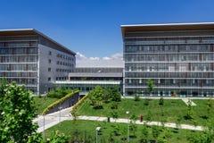 modernt byggnadssjukhus Royaltyfri Fotografi