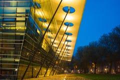 Modernt byggnadsuniversitet Arkivfoto