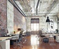 Modernt coworking kontor Royaltyfria Bilder