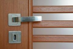 modernt dörrhandtag Royaltyfria Foton