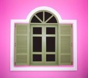 Modernt fönster Arkivfoton