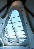 modernt fönster för design Arkivbilder