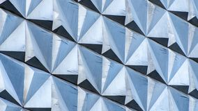 Modernt försilvra bakgrund En hög upplösning Belägga med metall arkivfoto