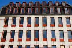 modernt facadehus Royaltyfria Bilder