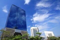 Modernt glass torn Arkivfoto