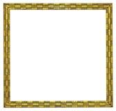 Modernt guld- föreställer inramar Arkivfoto