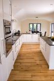 modernt härligt kök Fotografering för Bildbyråer