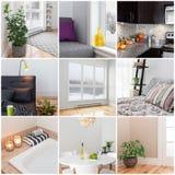 Modernt hem fotografering för bildbyråer