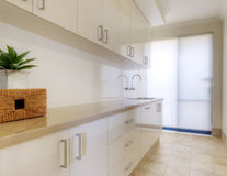 Modernt Home tvätteri Arkivbild