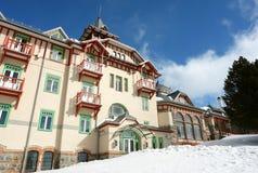 Modernt hotell. Royaltyfria Bilder
