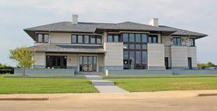 modernt hus Royaltyfria Foton