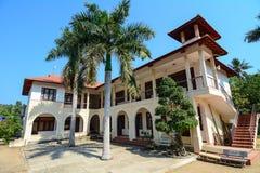 Modernt hus i den Tuy Hoa staden, Phu Yen, Vietnam Fotografering för Bildbyråer