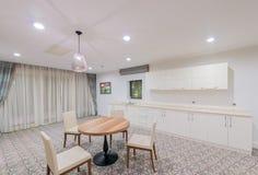 modernt inre kök Fotografering för Bildbyråer