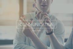 Modernt kommunikationsbegrepp Royaltyfria Foton