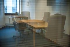 Modernt konferensrum arkivbild