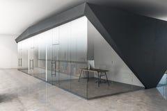 Modernt konkret kontor vektor illustrationer