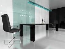 modernt kontor royaltyfri illustrationer