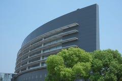 modernt kontor för arkitektur Arkivfoto