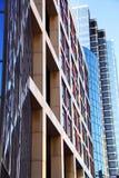 modernt kontor för byggnader Royaltyfria Bilder