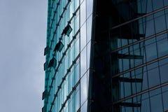 modernt kontor för finans Royaltyfri Fotografi