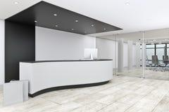 modernt kontor för lobby vektor illustrationer