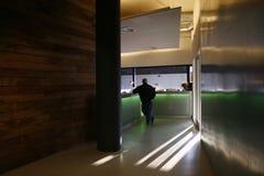 modernt kontor för lobby Royaltyfria Foton