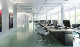Modernt kontor som möblerar 01 royaltyfri illustrationer