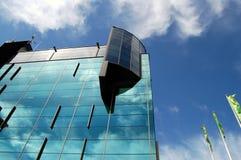 modernt kontor vilnius för arkitektur Royaltyfria Bilder