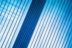 Modernt kontorsbyggnadabstrakt begrepp som suddighetsaffärsbakgrund Royaltyfria Bilder