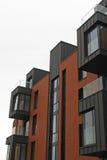 Modernt lägenhethus Fotografering för Bildbyråer