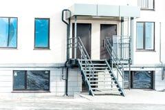 Modernt Mång--lägenhet kvarter Royaltyfria Foton