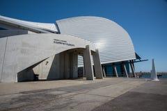Modernt maritimt museum fotografering för bildbyråer